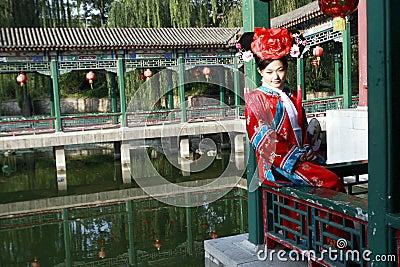 Beleza clássica em China.