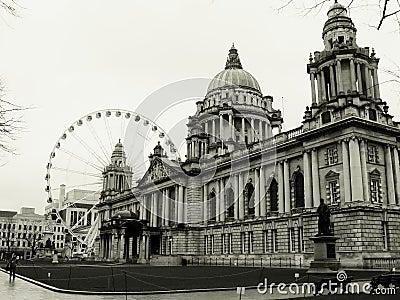Belfast Eye, Ireland City Hall