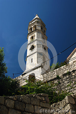 Free Belfry Church Of Our Lady Of The Rosary Odes Stock Image - 63564251
