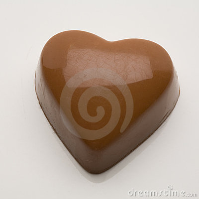 Belgian chocolate valentine heart