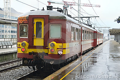 Belgian commuter train