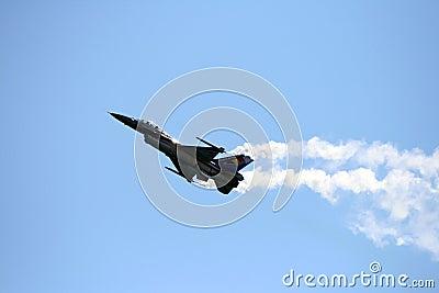 Belgian F16 Editorial Image