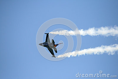 Belgian F16 Editorial Stock Image