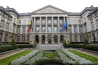 Belgian Federal Parliament in Bruxelles