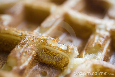 Belgian Waffles: Up Close and Personal