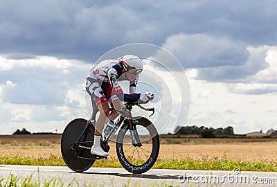 The BelgianCyclist Van Den Broeck Jurgen Editorial Image