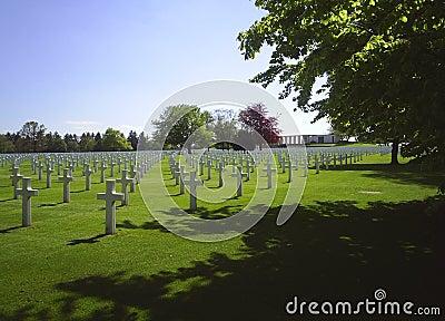 Belgien för 2 aubel kyrkogård