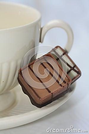 Free Belgium Chocolates And Tea Royalty Free Stock Photography - 11379897