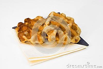 Belgium sugar waffle.