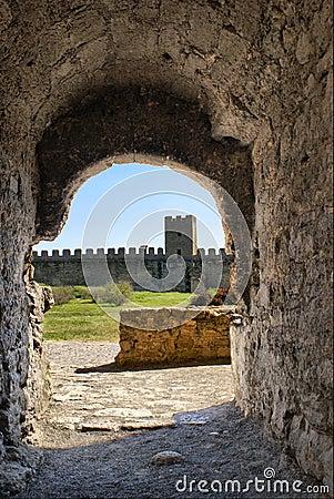 Belgorod-Dnestrov Akkerman fortress. Courtyard
