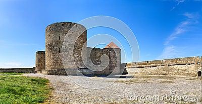 Belgorod-Dnestrov Akkerman fortress. Courtyard for