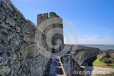 Belgorod-Dnestrov Akkerman fortress. Wall