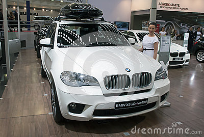 Car BMW X5 xDrive40d Editorial Image