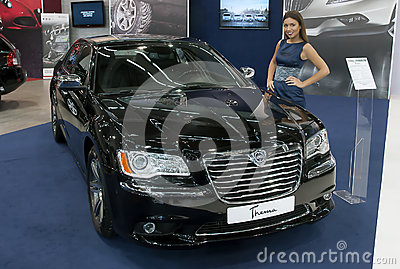 Car  Car Lancia Thema Editorial Image