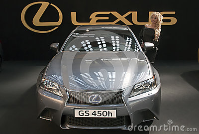 Car Lexus GS 450h Editorial Photography