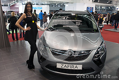 Car Opel Zafira Editorial Image
