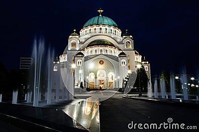 Belgrade tample