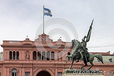 Belgrano allgemeine Casen Rosada Argentinien