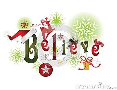BELIEVE -Christmas message