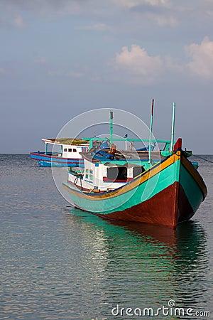 Belitung Fishing Boats