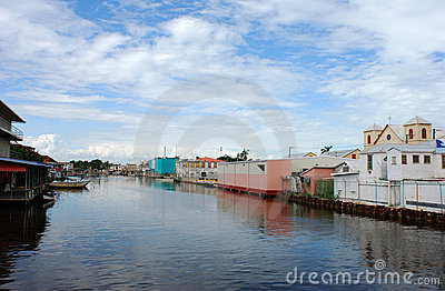 Belize City Canal