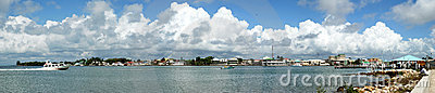 Belize City Panorama