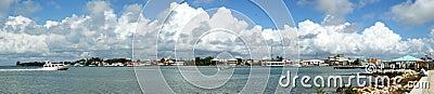 Belize City Panorama