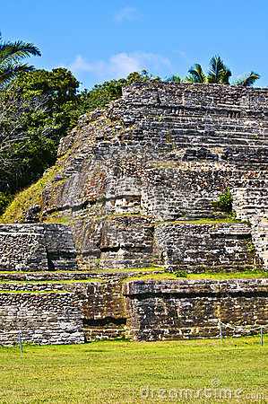 Belize Maya Temple