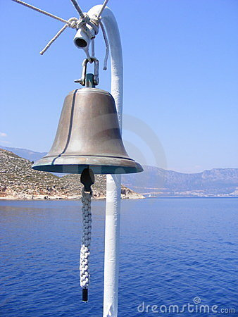 Bell on Boat