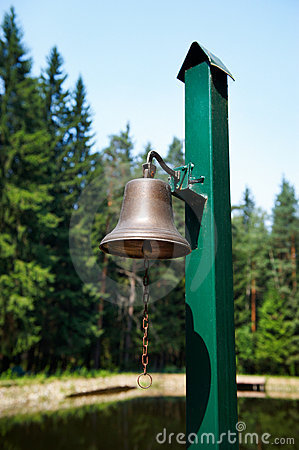 The bell on the docks