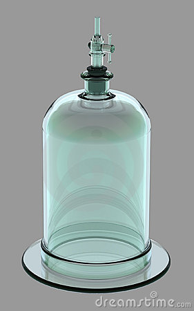Bell Jar with Valve