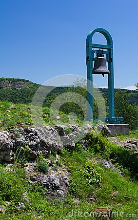 Bell on mountain