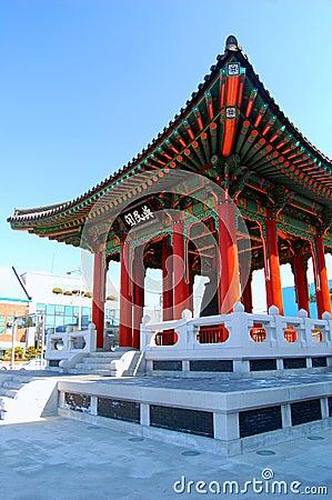 Bell Pavillion Near Hwaseong Haenggung
