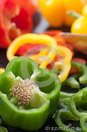 Bell Pepper Slices