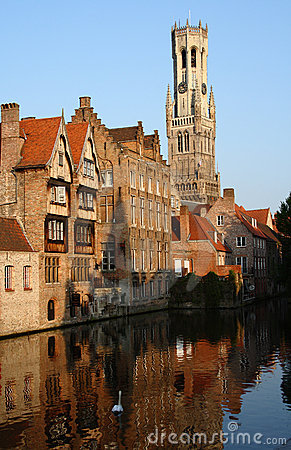 Bell Tower in Bruges