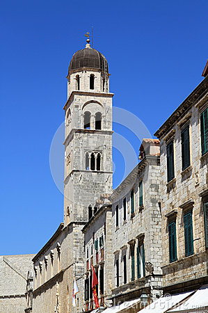Bell tower in Dubrovnik