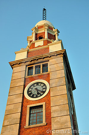 Bell tower in Hongkong