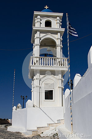 Bell tower in Imerovigli