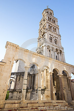 Free Bell Tower In Split, Croatia Stock Photography - 60412142