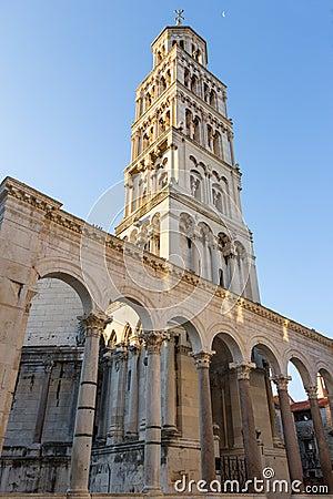 Free Bell Tower In Split, Croatia Royalty Free Stock Photos - 60416308
