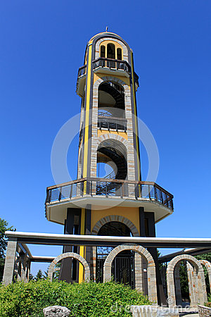 Free Bell Tower, Near The Statue Of The Virgin Mary Stock Images - 32685374