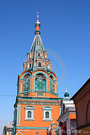 Bell tower of Orthodox church