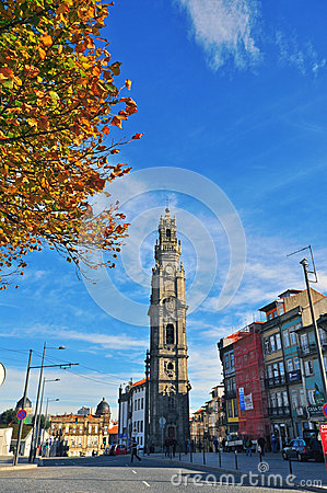 Bell tower of Porto Editorial Image