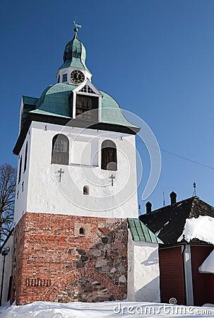 Bell-tower Porvoo, Finland