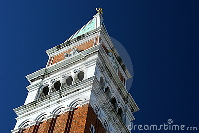 Bell Tower in St. Mark s Square, Vencie, Italy