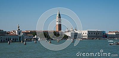 Bell tower, Venice.