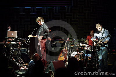 Bell X1 at Joe s Pub Editorial Stock Image