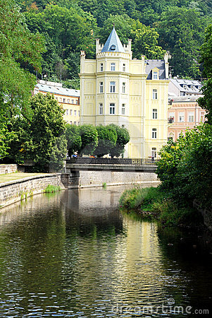 Bella casa a Carlsbad (Karlovy varia)