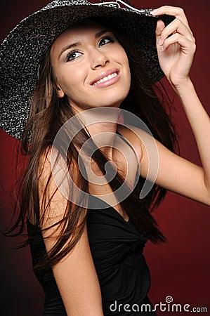 Bella ragazza del brunette