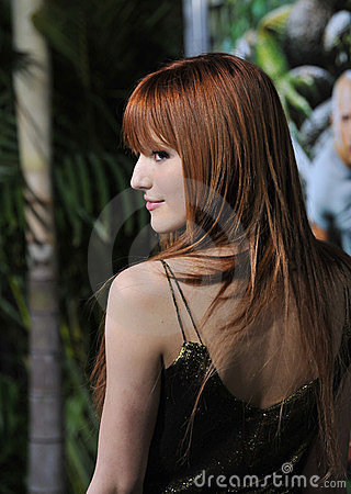 Bella Thorne, Journey Editorial Stock Photo